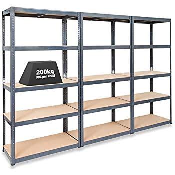 elephant cm extra wide heavy duty  tier shelf