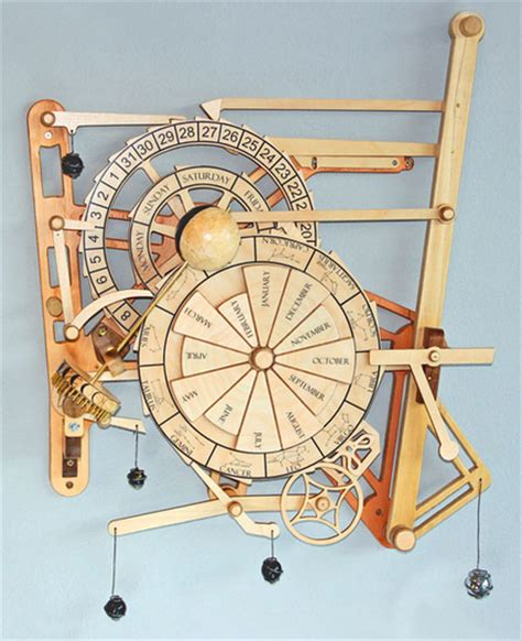 jobbers plans  build  wooden clock