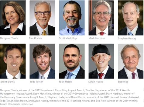 investments wealth institute awards recognize