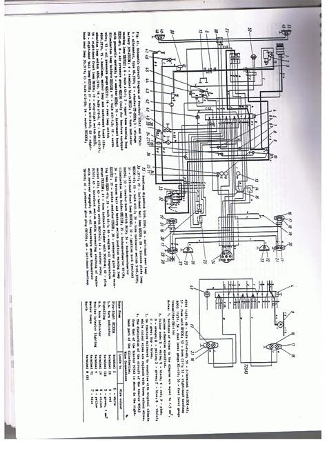 Labelled Diagram Mey Ferguson Tractor Circuit