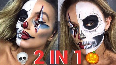diy skeleton makeup  terrifyingly beautiful halloween