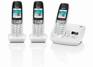 Telefon Weiß Schnurlos : gigaset c620a trio wei bei kaufen versandkostenfrei ~ Eleganceandgraceweddings.com Haus und Dekorationen