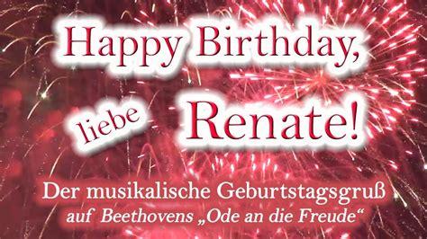 happy birthday liebe renate alles gute zum geburtstag