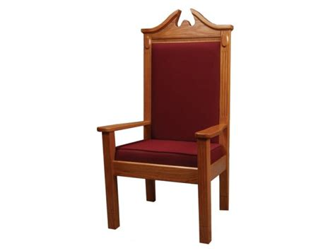 side pulpit chair stained tcf 820s pulpit furniture