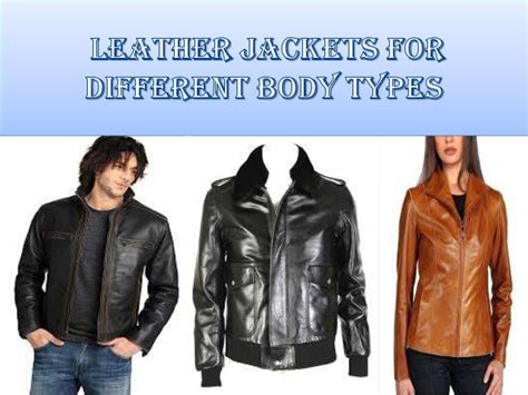 Leather Jackets For Different Body Types
