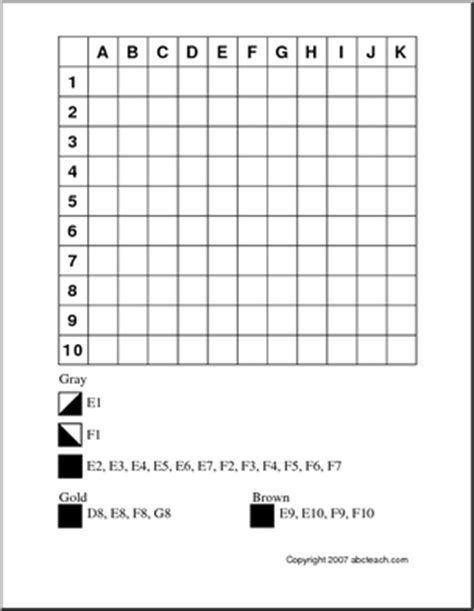 mystery picture coloring grid 11 best images of coordinate worksheets