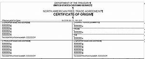 nafta certificate of origin template how to nafta With nafta certificate of origin template