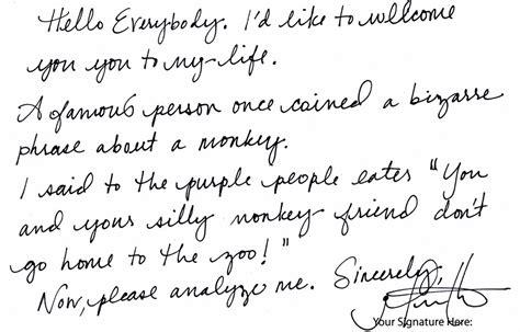 writing sle template cursive handwriting styles writing