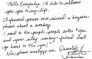 Cursive Handwriting Styles | Hand Writing