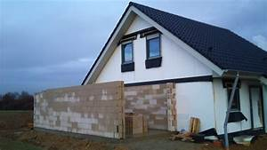 Dach Garage Bauen : bautagebuch fronhoven die garage wurde gemauert ~ Michelbontemps.com Haus und Dekorationen