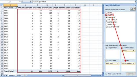 excel pivot table tutorial sample productivity portfolio