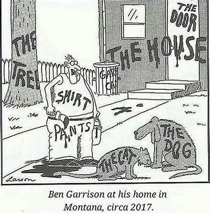 Garrison Ben Larson Gary Trump War Far