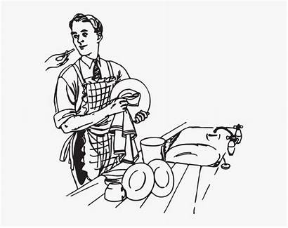 Dishes Washing Clip Wash Pngitem Cartoon Transparent