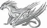 Feu Royaumes Hailstorm Lynx Wingsoffire sketch template