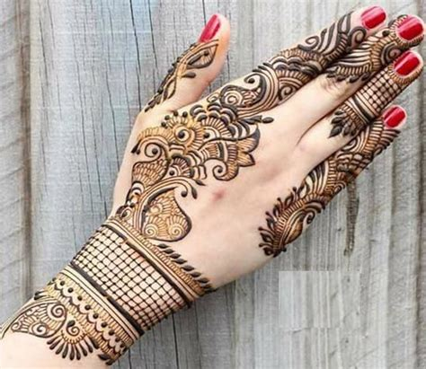 new simple mehndi designs for 2017 catalogue