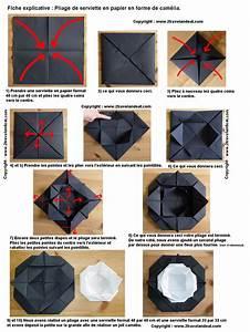 Pliage En Papier : 1000 images about pliage de serviettes on pinterest ~ Melissatoandfro.com Idées de Décoration