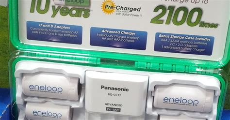 panasonic eneloop rechargeable batteries  charger model