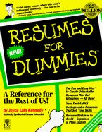 resumes for dummies book by joyce kennedy 6