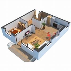 modelisation d39une maison en 3d With logiciel plan maison 3d 2 modelisation dune maison en 3d