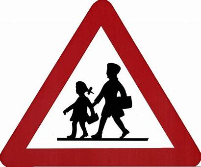 Signs Sign Traffic Road Clipart Printable Triangle