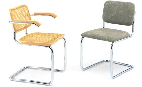 marcel breuer cesca chair with seat hivemodern com