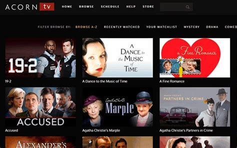 britbox  acorn tv