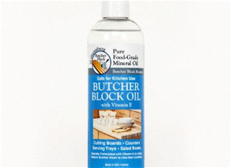 Butcher Block Food Grade Mineral Oil 12oz Williamsburg