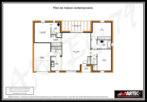 plan de maison 75m2 sofag