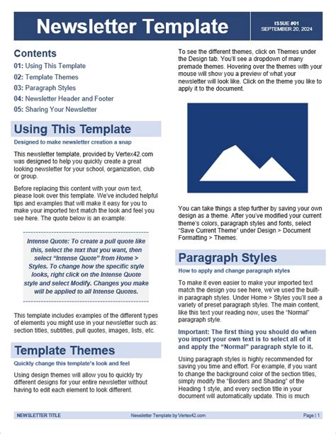newsletter template conscreens images