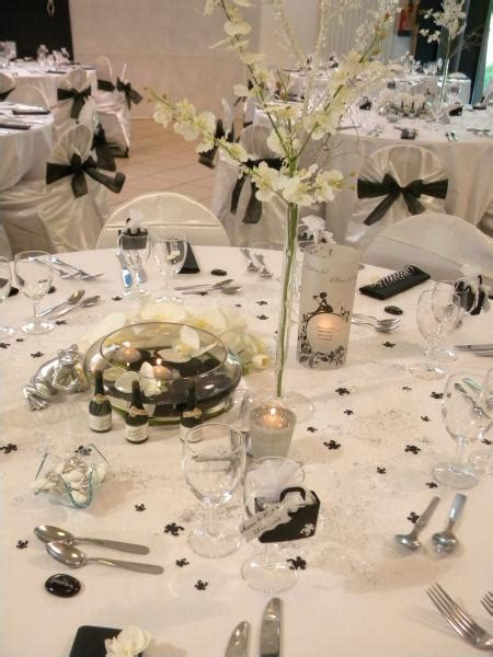 deco mariage noir et blanc decoration salle mariage noir et blanc id 233 es de d 233 coration et de mobilier pour la conception
