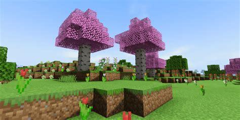 Minecraft Cherry Blossom Tree Texture Pack Bedrock