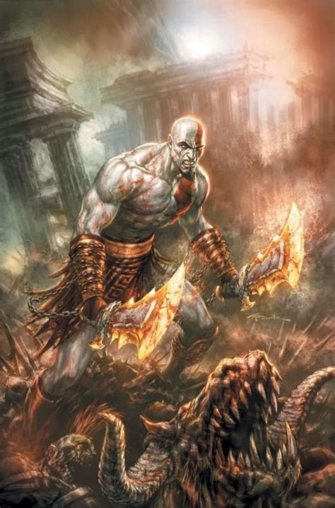 Kratos God Of War Concept Art Playstation Pinterest