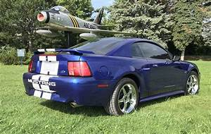Sonic Blue 2003 Ford Mustang GT Coupe - MustangAttitude.com Photo Detail