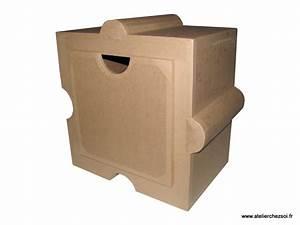 Kit Meuble En Carton Huzzle L39Atelier Chez Soi Mille Et