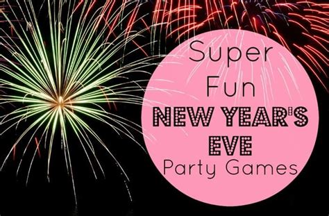 5 Super Fun New Year's Eve Party Games