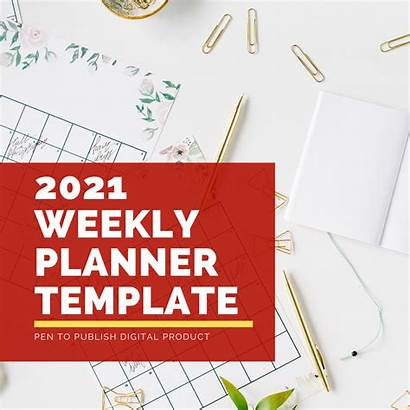 Planner Weekly Template Personal