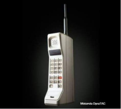 when was the cell phone call made history of cell phones timeline timetoast timelines