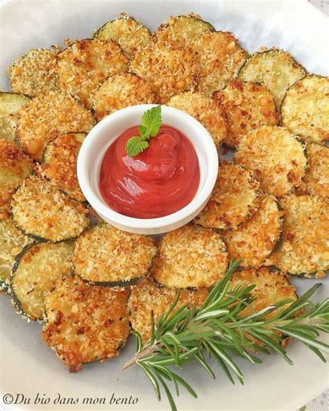 des chips de courgettes sans friture vegan ou pas par du