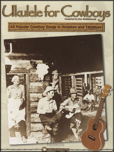 Gifts and music specialises in quality music gifts and music themed cards for musicians and people who are passionate about music. Ukulele for Cowboys TAB Music Book Chord & Melody Songbook