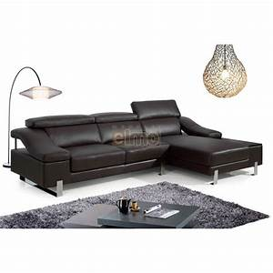 canape cuir canape d39angle cuir larges accoudoirs With canape meridienne design