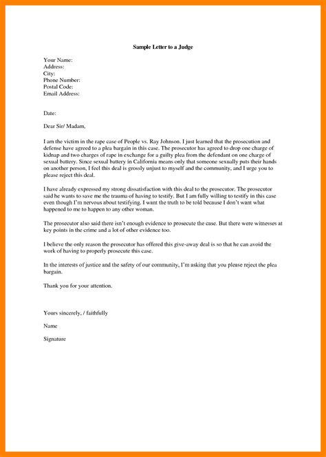 address  letter   judge gplusnick