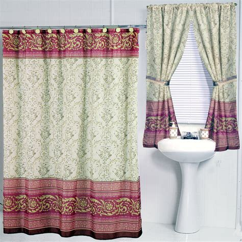 shower curtain set classic and lovable shower curtains homesfeed