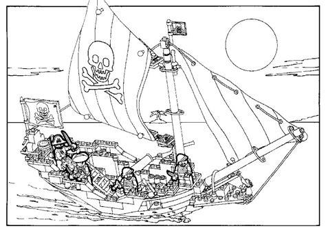 chambre indien kleurplaat lego piratenschip