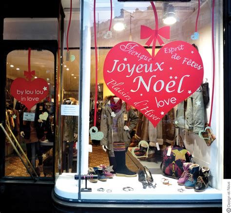 decoration de noel pour vitrine magasin deco vitrine noel magasin