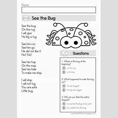 Image Result For Poem Comprehension For Grade 1  Worksheets  Reading Comprehension, Reading