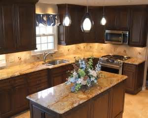 L-shaped Kitchen with Island Design
