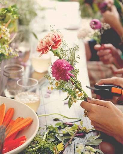 Bridal Shower Themes Flower Bridesmaids Craft Garden