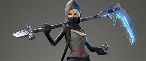 2560x1080 Fortnite Female Ninja 2560x1080 Resolution Hd 4k Wallpapers Images Backgrounds
