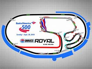 NASCAR To Race On Charlotte39s ROVAL In 2018 SPEED SPORT