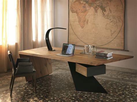 bureau en bois moderne bureau bois design 50 belles propositions